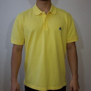 Brooks Brothers Yellow Polo